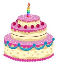 Animated Happy Birthday Cake Cartoon