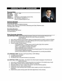 Best Cv Format Bitraceco For Template 87 Mesmerizing