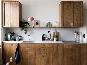 Cuisine En Marbre : une cuisine en marbre et bois lili in wonderland ~ Melissatoandfro.com Idées de Décoration