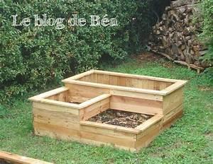 Fabriquer Un Bac Potager Avec Des Palettes : carr potager en bois de palette square planter made of ~ Louise-bijoux.com Idées de Décoration