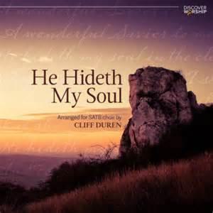 he hideth my soul discover worship