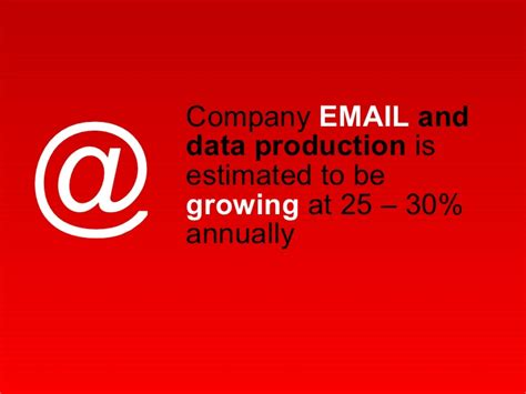 company email  data production
