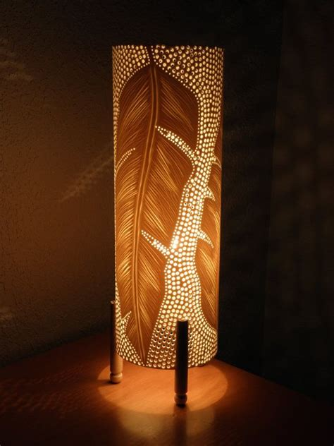 table lamp pvc pipe recycled feathers feathers handmade ceiling lamps lighting  awesome