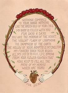 Frida Kahlo Lov... Frida Kahlo Love Quotes
