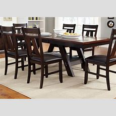 Cityscape Trestle Rectangular Dining Table  Rotmans