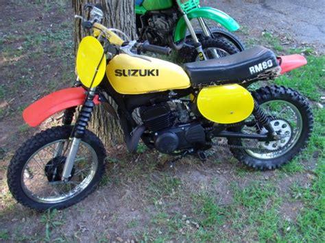 1977 Suzuki Rm80 Vintage Motocross Mx Rm 80 77 1978