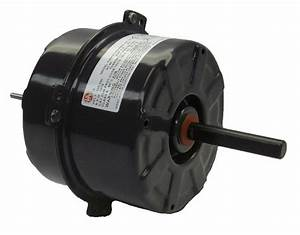 5 U0026quot  Condenser Fan Motor 1  10 Hp 1075 Rpm  208