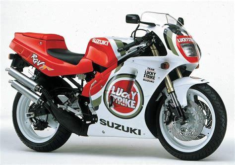 250cc Suzuki Motorcycle by 1994 Suzuki Rgv250sp Lucky Strike 250cc 2 Stroke
