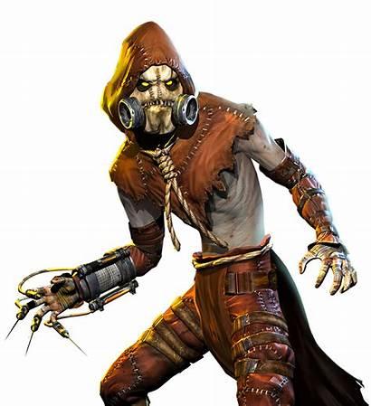 Scarecrow Arkham Batman Asylum Arkhamverse Crane Jonathan
