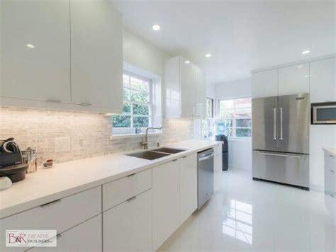 White Kitchens Ideas - glossy white flat panel kitchen cabinet someday kitchen pinterest flats white flats and