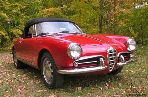 Alfa Romeo Giulietta 101 Spider, 1960