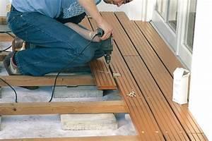 Wpc Unterkonstruktion Abstand : terrassen verlegen zum beispiel mit holzdielen oder pflastersteinen ~ Buech-reservation.com Haus und Dekorationen