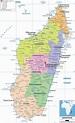 Detailed Political Map of Madagascar - Ezilon Maps