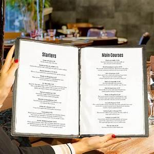 Protege Menu Restaurant : prot ge menu qu bec effet bois ~ Teatrodelosmanantiales.com Idées de Décoration