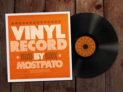 vinyl record psd   mostpato  deviantart