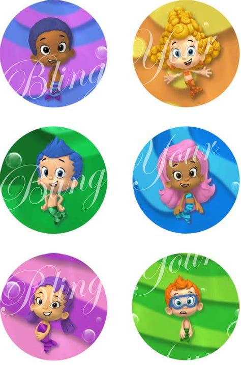 25 best ideas about bubble guppies cake toppers on