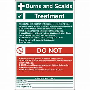 First aid for Burns and Scalds - Parentcircle