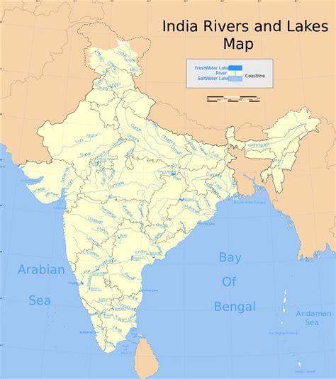 list  major rivers  india wikipedia