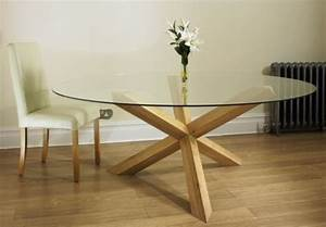 Table verre et bois salle manger for Meuble de salle a manger avec table salle a manger verre et bois design