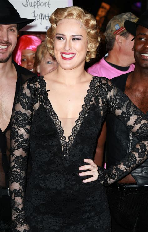 Rumer Willis With Blond Hair At Good Morning America