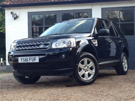 land rover freelander used java black land rover freelander for sale west sussex