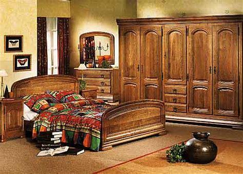 chambre à coucher rustique chambres à coucher en chêne cerisier et hêtre chambres