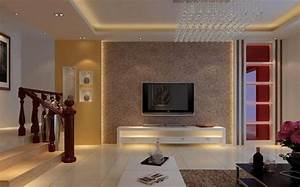 Living room interior tv wall design