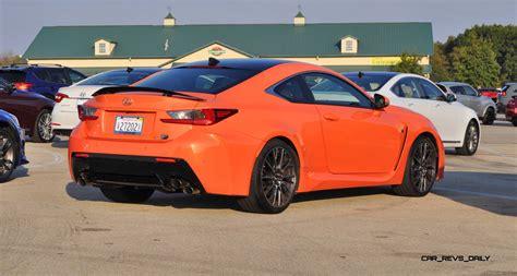 rcf lexus orange best of awards 2015 lexus rc f review in 3 videos 170