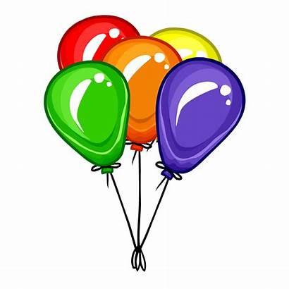 Balloons Balloon Clipart Bunch Ballons Transparent Background