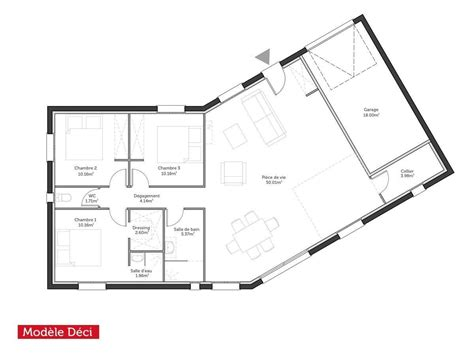 gallery of maison m plan with maison m plan with maison moderne 100m2