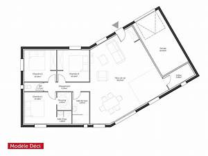plan maison 100m2 4 chambres gallery of with plan maison With beautiful plan maison en l 100m2 4 plan maison mikit 4 chambres