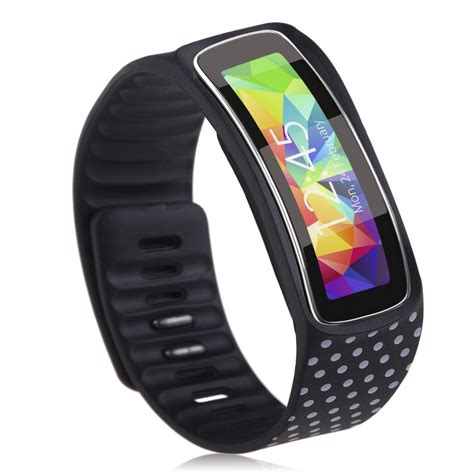 tpu replacement wrist band smart bracelet for samsung galaxy gear fit r350 ebay