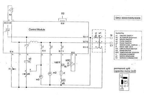 bosch dishwasher wiring diagram wiring