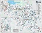 Santa Clara Transport Map • Mapsof.net