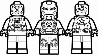 Lego Coloring Printables Lesson