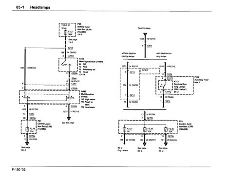 headlight wiring diagram ford f150 forum community of