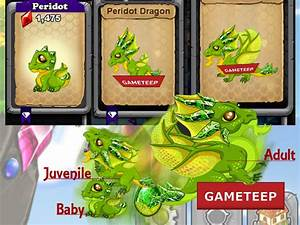 DragonVale: How to breed Peridot Dragon 100% Real | Gameteep