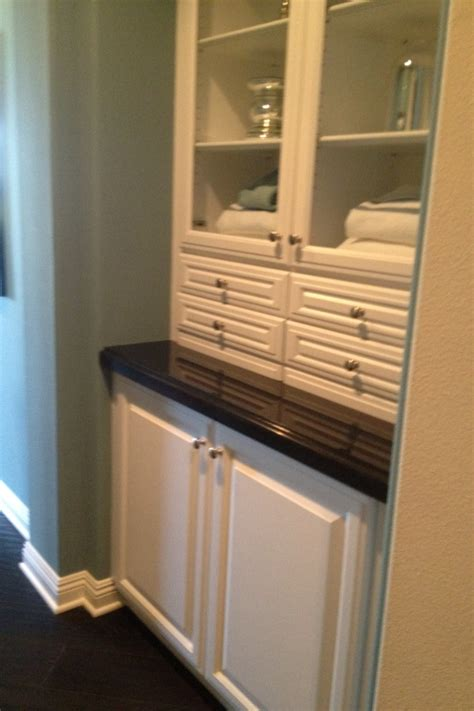 built in linen closet fancy for the home