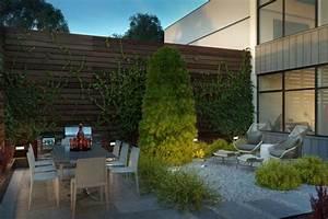 terrasse exterieur amenagements et deco en 53 idees With amenager une terrasse exterieure 13 brise vue balcon decoration exterieure de votre terrasse