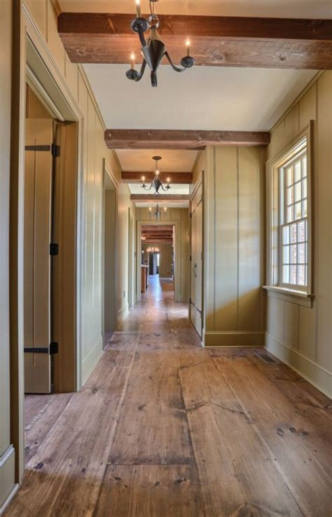 classic colonial love  floor   wide planks