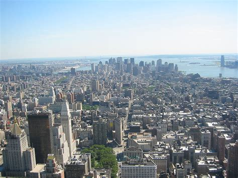Downtown New York City From The Empire State Building