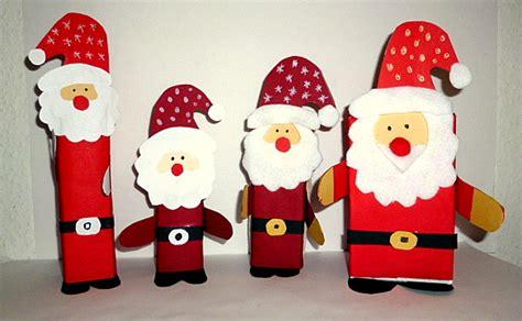 weihnachtsmann selber basteln weihnachtsbasteleien meine enkel und ich