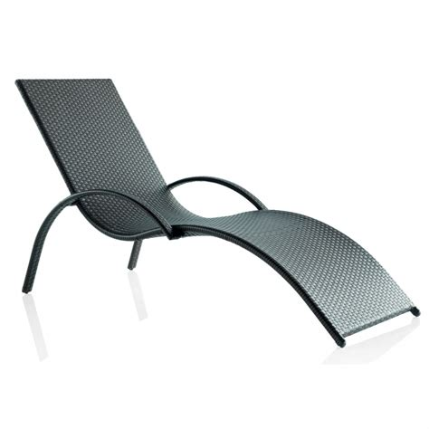chaise en résine tressée chaise longue d 39 extérieur en résine tressée brin d 39 ouest