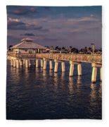 fort myers beach fishing pier photograph  edward fielding
