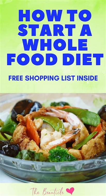 Whole Eating Benefits Counting Clean Shopping Stop