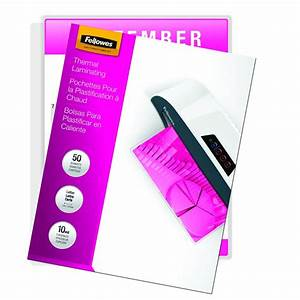 fellowes laminating pouches thermal letter size 10 mil With 10 mil laminating pouches letter size