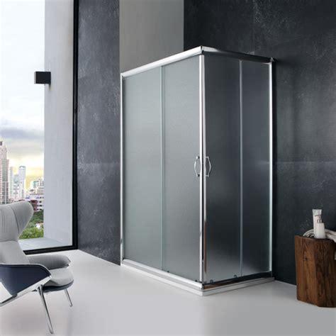 doccia rettangolare box doccia rettangolare 70x120 con cristallo opaco kv store