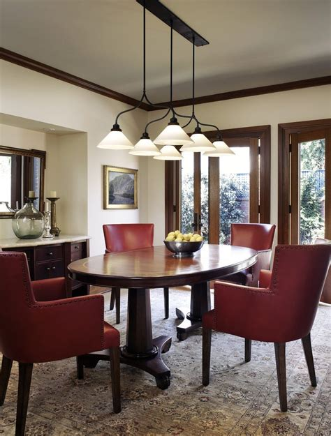 oval pedestal dining room traditional with table