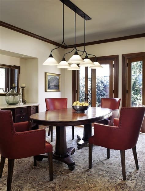 Oval Pedestal Dining Room Traditional with Table Crystal
