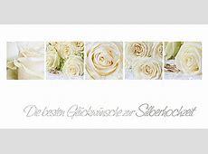 Silberhochzeit, weiße Rosen wwwStimmungsBilderde